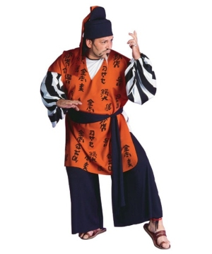 Samurai Warrior Costume - Adult plus size Costume