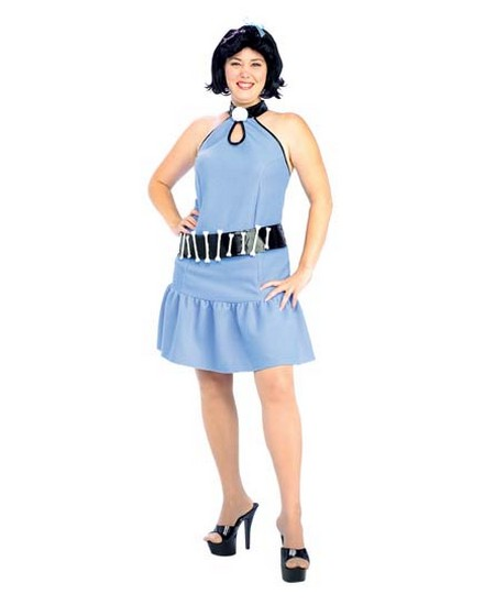Flintstones Betty Rubble Women Plus Size Costume