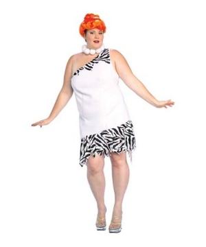 Wilma Flintstone Womens plus size Costume