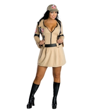 Sexy Ghostbuster Women's Costume plus size