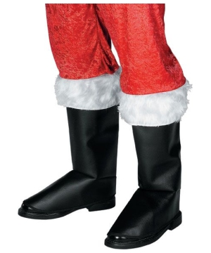 Deluxe Santa Boot Tops-christmas Accessories