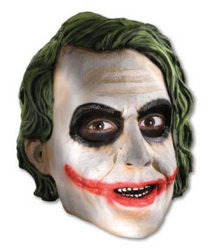 Batman Joker 3/4 Vinyl Mask - Kids Mask