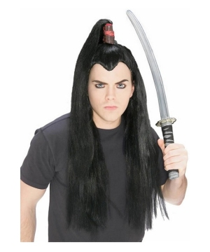 Samurai Wig - Costume Accessories