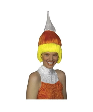 Candy Corn Wig - Adult Wig