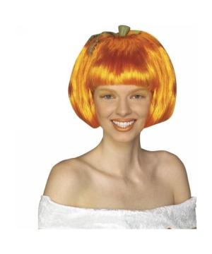 Pumpkin Spice Adult Wig