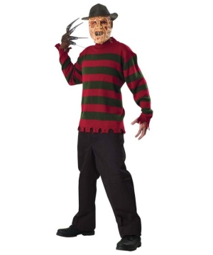 Freddy Sweater Costume - Adult Costume - deluxe