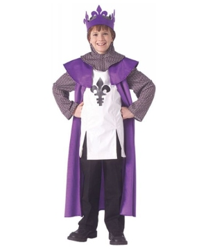 Renaissance King Kids Costume
