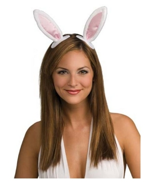 Bunny Ears Adult Costume Accessory