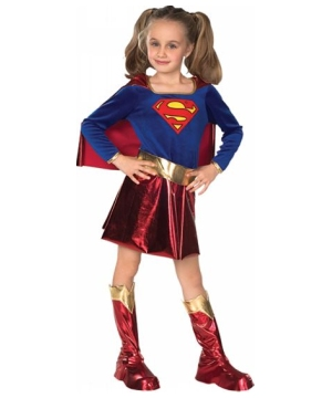 Super Girl Movie Kids Costume