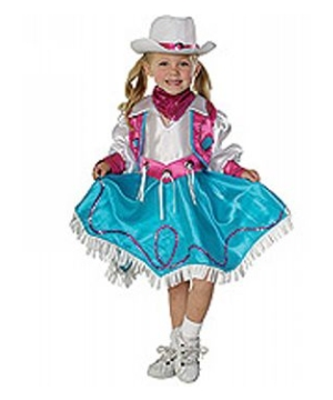 Rodeo Princess Kids Costume