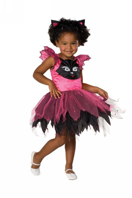 Kids Kitty Cat Girl Costume
