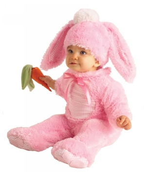 Pink Bunny Baby Costume
