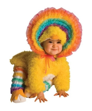 Rainbow Chickie Baby Costume