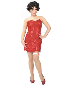 Betty Boop Womens Costume