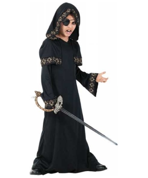 Gothic Pirate King Boys Costume