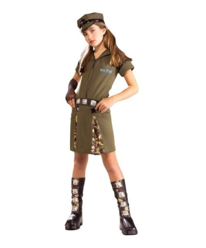 Major Flirt Kids Costume