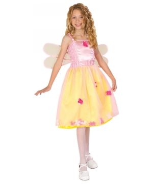 Spring Fairy Kids Storytime Wishes Costume