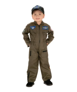 Air Force Fighter Pilot Kids Costume