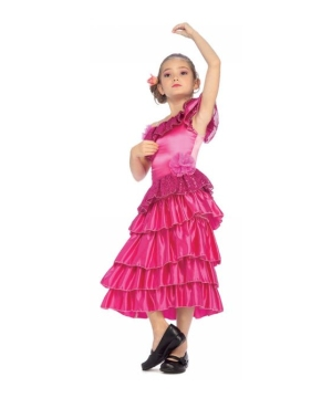 Spanish Dancer Kids Costume