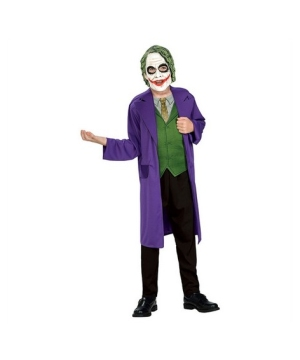 The Joker Kids Costume
