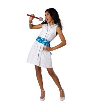 High School Musical Gabriella Star Dazzle Girls Costume
