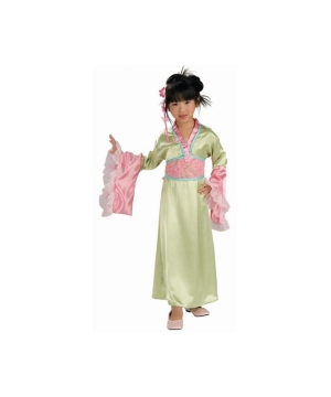 Plum Blossom Princess Kids Costume