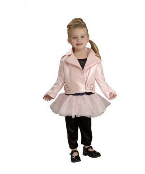 Harley Davidson Pink Jacket- Toddler Costume