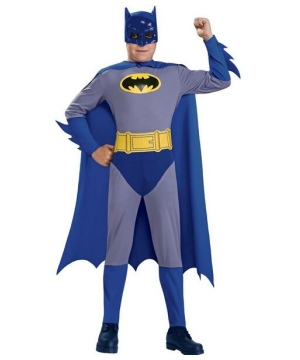 Brave and the Bold Batman Kids Costume