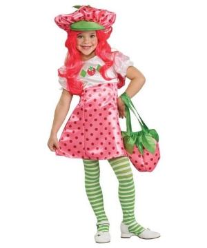 Strawberry Shortcake Kids Costume deluxe