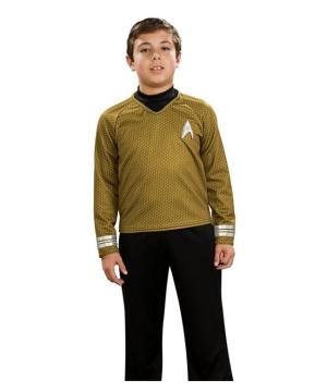 Star Trek Gold Shirt - deluxe Kids Costume