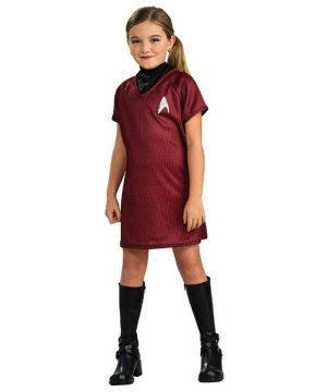 Star Trek Movie Uhura Costume - Kids Costume