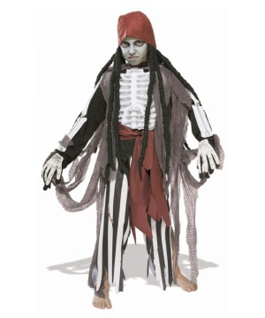 Ghostship Pirate Kids Costume