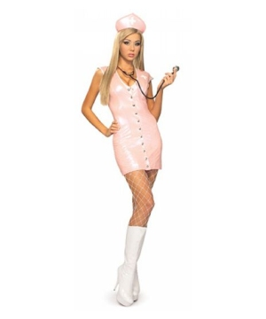 Pink Nurse Adult Costume