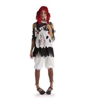 Rag Doll Girl Womens Costume