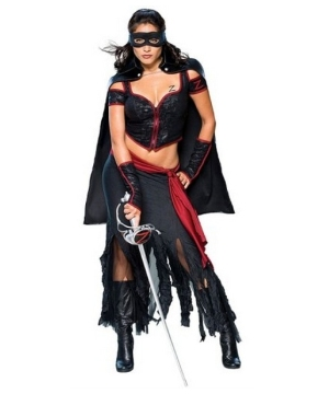 Lady Zorro Adult Costume