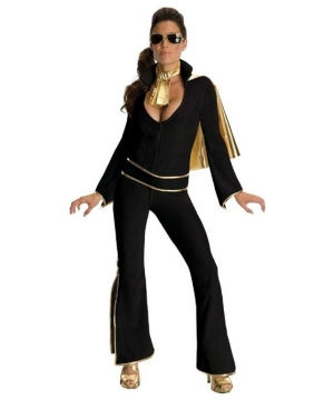 50s Elvis Presley Women Costume