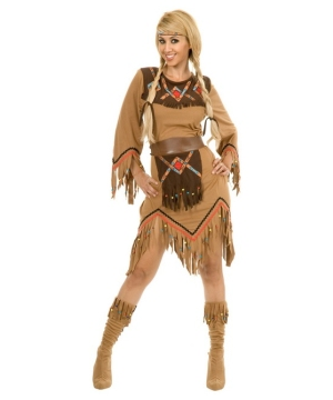 Sacajawea Indian Maiden Women Costume