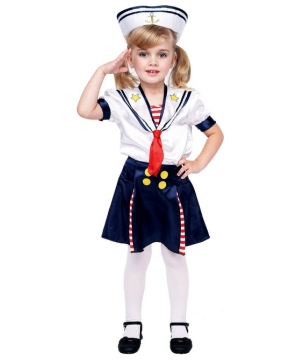 Sailorette Costume - Toddler Costume