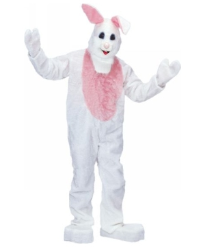 White Beach Bunny Costume