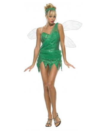 Sequined Sprite Women Costume