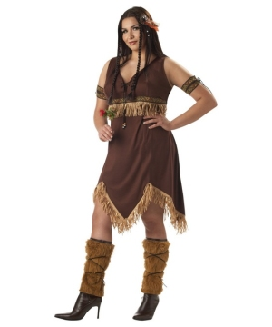 Sexy Indian Princess Costume - Adult plus size Costume