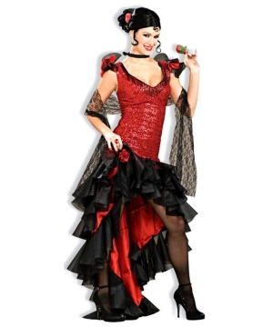 Spanish Dancer Adult Costume deluxe