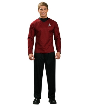 Star Trek Movie Red Shirt Costume - Adult Costume