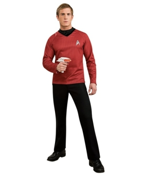 Star Trek Movie Red Shirt Costume - Adult Costume deluxe