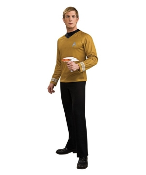 Star Trek Movie Gold Shirt Costume - Adult Costume deluxe