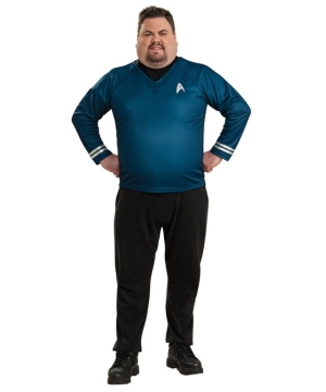Star Trek Movie Blue Shirt Costume - Adult plus size Costume deluxe
