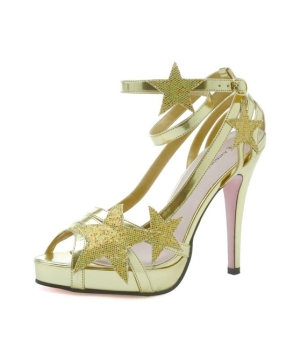 Gold Starlight Adult Shoes