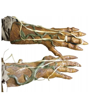 Pumpkin Rot Adult Gloves