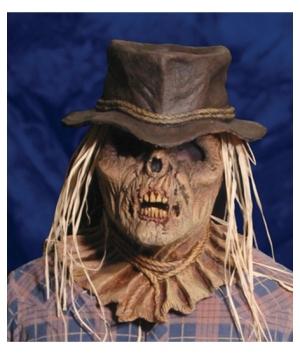 Zombie Scarecrow Adult Mask