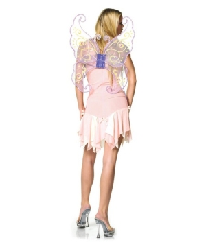 Butterfly Wings Lavander Organza Jewelled Adult deluxe